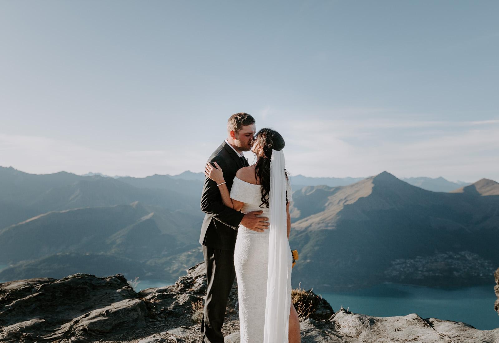 heli elopements photographer
