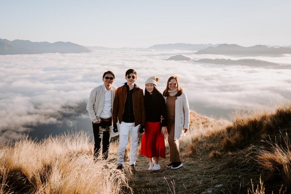 family photoshoot newzealand