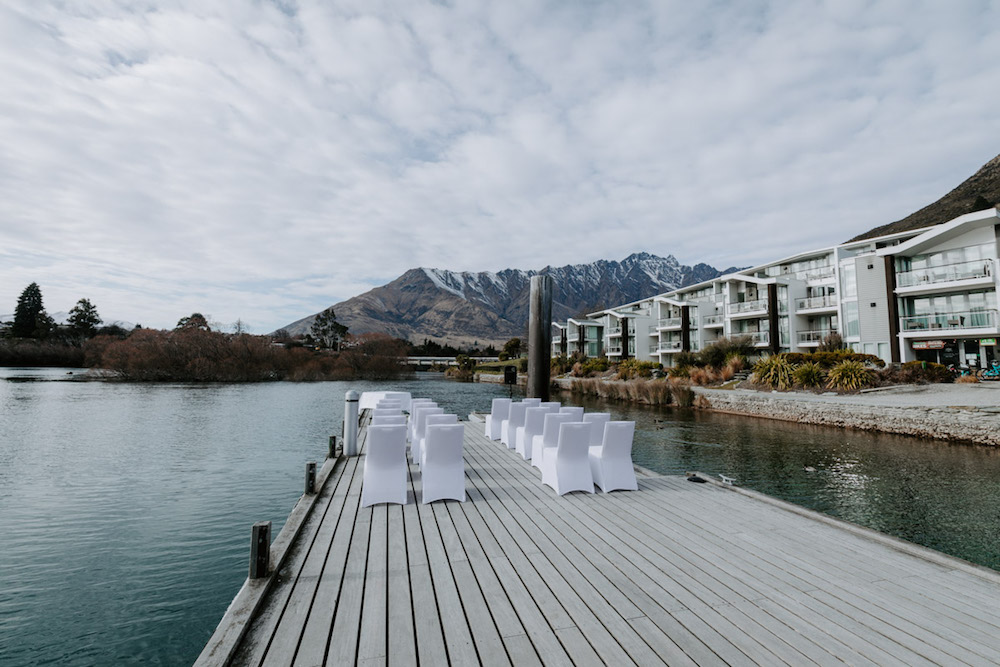 lake front weddings new zealand