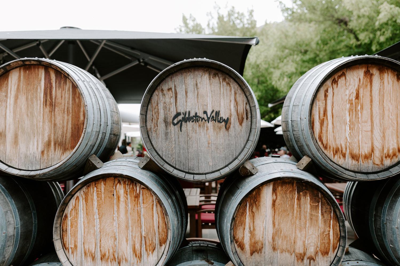 gibbston wine barrels