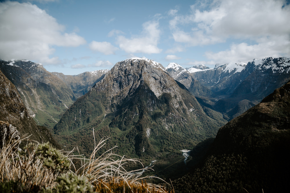 views from the milford track