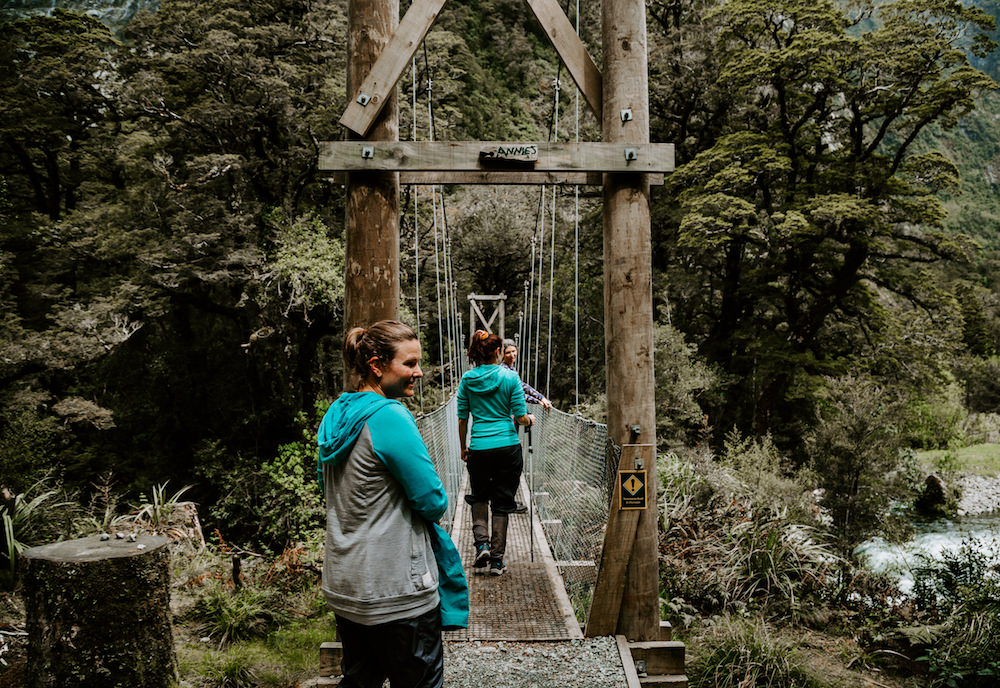hikes in milford sound