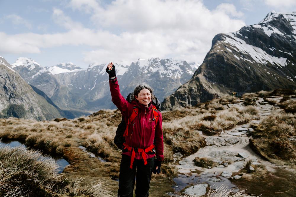 hiking milford