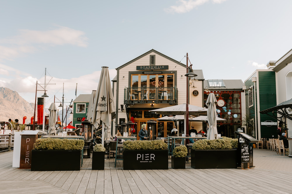 the pier in queenstown new zealand