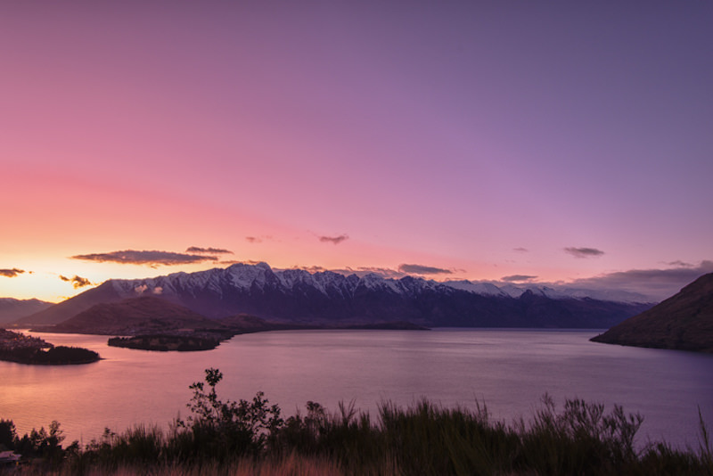 remarkables sunrise