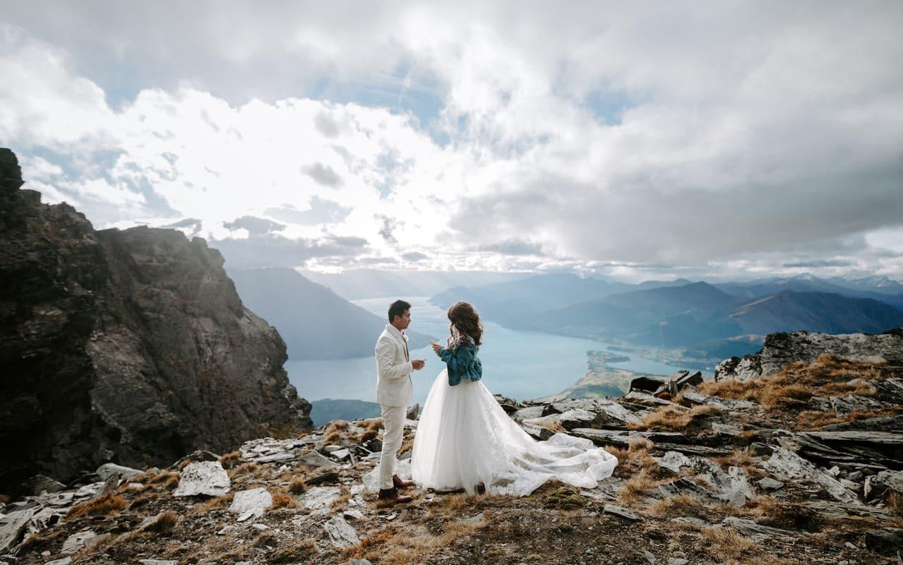 queenstown elopement wedding