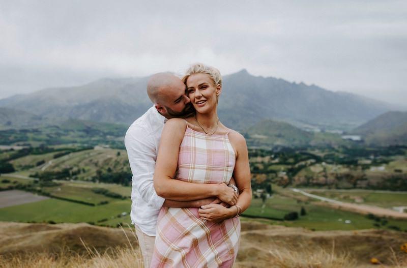 couples shoot new zealand